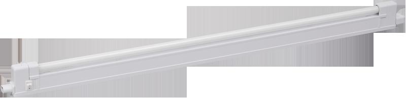 8w, 230v, IP20, T4/G5, 355 х 43 мм, ЕПРА, Світильник стельовий, ЛПО2004A-1 ІЕК [ LLPO0-2004A1-1-08-K01]