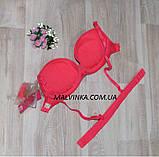 Бюстгальтер пуш-ап   FUBA  силиконовая спина,разные цвета,размер 75,80,85В  арт 720, фото 3