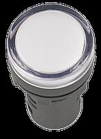 Лампа AD16DS(LED)матрица d=16мм красный 12В AC/DC ІЕК [BLS10-ADDS-012-K04-16] ИЕК