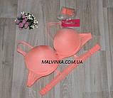 Бюстгальтер пуш-ап   FUBA  силиконовая спина,разные цвета,размер 75,80,85В  арт 720, фото 9