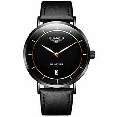 Мужские часы Guanquin 8804 Черный