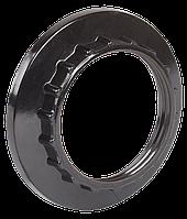 Кольцо к патрону Е27 бакелит черный (индивидуальный пакет) ІЕК [EKP10-02-02-K02] ИЕК
