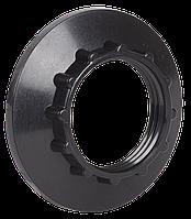 Кольцо к патрону Е14 пластик черный (индивидуальный пакет) ІЕК [EKP20-02-02-K02] ИЕК