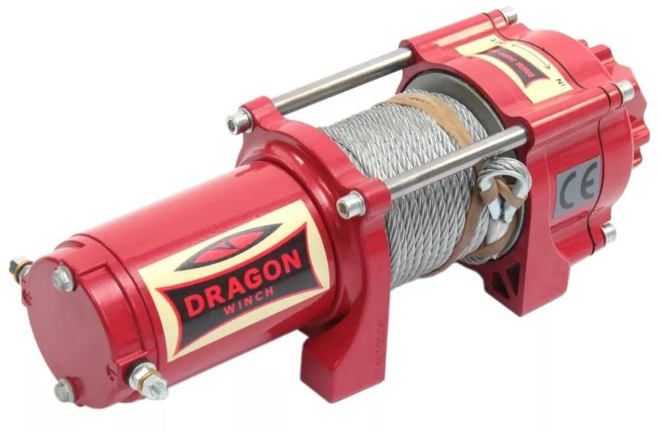 Лебедка электрическая Dragon Winch MAVERICK DWM 3500 ST