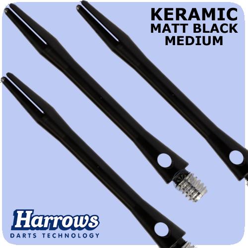 Хвостовики дартс Keramic Harrows medium