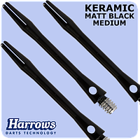 Хвостовики дартс Keramic Harrows