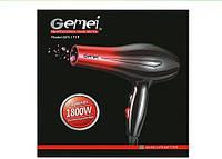 Профессиональный фен для укладки и сушки волос Gemei GM-1719, 1800W