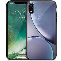 "TPU+Glass чехол Planet для Apple iPhone XR (6.1"") Серый"