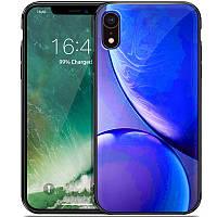 "TPU+Glass чехол Planet для Apple iPhone XR (6.1"") Синий"