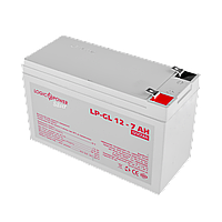 Аккумулятор гелевый LP-GL 12V - 7 Ah Silver