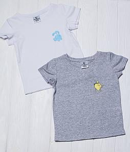 Набор детских футболок из 2 шт. Крош с лимончиком