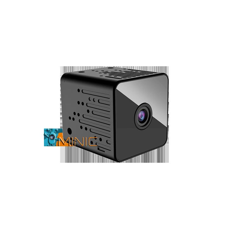 Wi-Fi мини камера ZTour Q9H с автономной работой до 2 часов, датчиком движения и ночной подсветкой