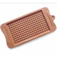 Силиконовая форма для Шоколадной плитки ( 10,5 см на 21,5 см )