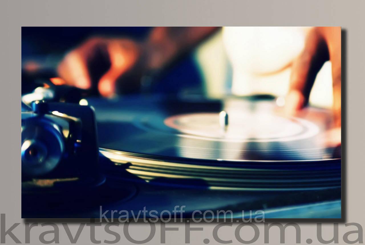 "Картина на холсте ""DJ Max"" ( 32.5х54 см )"