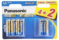 Батарейки Panasonic Alkaline АА пальчиковые