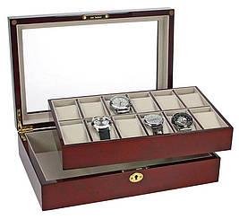 Скринька для годинників та ювелірних прикрас