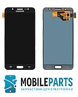 Дисплей для Samsung J510F | J510H Galaxy J5 2016 с сенсорным стеклом (Черный) TFT подсветка оригинал