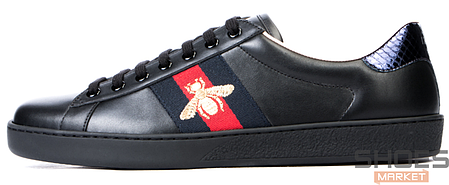 Мужские кроссовки Gucci Ace Embroidered 429446 A38G0 1284, Гуччи Эйс Емброидеред, фото 2