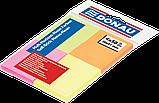Блок паперу для заміток Donau 38х51мм, Neon асорті, 4 кольори по 50 шт, фото 2