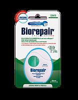 """Biorepair Pro Зубная нить - флосс """"Ежедневная защита"""" с гидроксиапатитом, 50 м"""