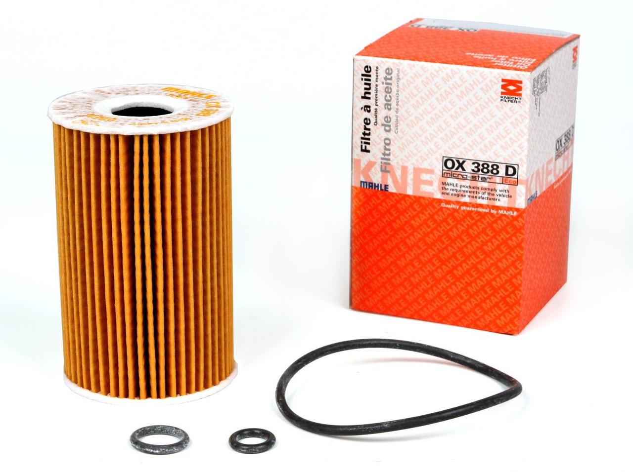 Фильтр масляный Knecht OX 388D VW T6, Crafter, Caddy, 1.6-2.0 TDI, 10