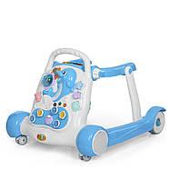 Детские ходунки-толкатель 6080-4 Гарантия качества Быстрая доставка, фото 2