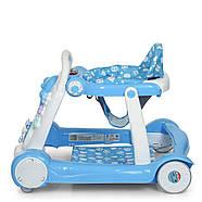 Детские ходунки-толкатель 6080-4 Гарантия качества Быстрая доставка, фото 5