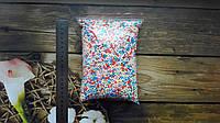 Шарики пенопластовые 2-4 мм, микс (разноцветные), для слаймов и декора.+Подарок