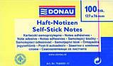 Блок бумаги для заметок Donau Standard 76х121 мм, 100 шт, фото 2