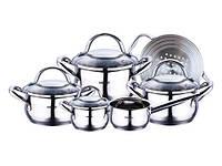 Набор посуды Bergner BG-6529, 10предметов