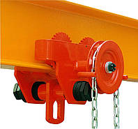 Каретка для тали (механизм передвижения тали с приводом) - 5т, 3м