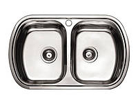 Кухонна мийка CATANIA подвійна 800