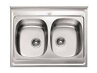 Кухонна мийка MILANO 800 подвійна