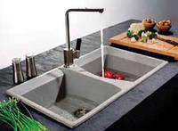 Гранітна кухонна мийка BRISA 2T
