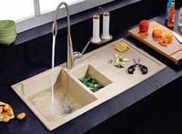 Мойка гранитная врезная для кухни 1000*500 мм  VIGA 1D  цвета в ассортименте