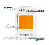 Светодиодная матрица фито  для растений  LED COB 50вт 230в Full Spectrum, фото 6