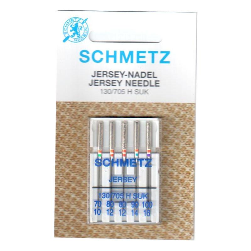 Голки для трикотажу Jersey система 130/705 H-SUK Jersy B5 70\80*2\90\100