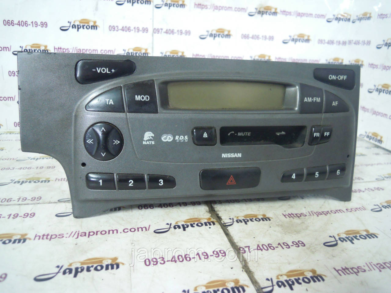 Магнитола штатная (радио) Nissan Primera WP11 2000-2002г.в