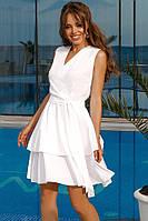 СМ61165 Легкое воздушное женское платье разные цвета