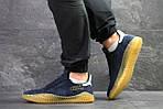 Мужские кроссовки Adidas Kamanda (темно-синие) , фото 2