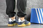 Мужские кроссовки Adidas Kamanda (темно-синие) , фото 3
