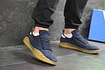 Мужские кроссовки Adidas Kamanda (темно-синие) , фото 4