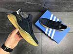 Мужские кроссовки Adidas Kamanda (темно-синие) , фото 5
