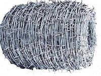 Дріт колючий оцинкована подвійна ф 1,4 мм (250 метрів)