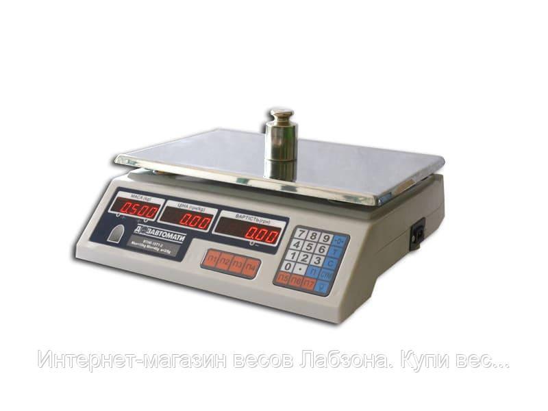 Весы торговые электронные ВТНЕ 15т1-2.