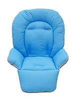 Чехол к стульчику для кормления Capella Piero Fabula голубой