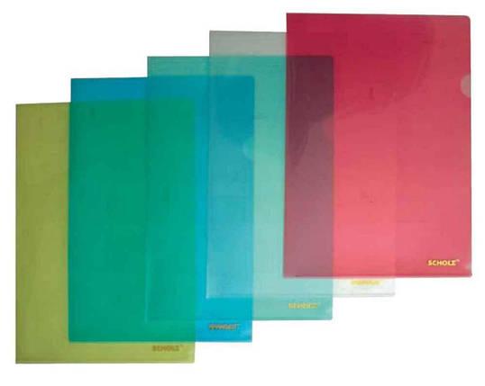 Папка-куток Scholz, 01310, А4, 180 мкн., зелений, фото 2