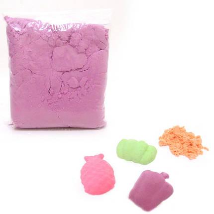 """Пісок кінетичний """"Violet"""", 0,5кг, фото 2"""