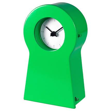 Часы IKEA IKEA PS 1995 14 см Зеленые (504.387.58), фото 2
