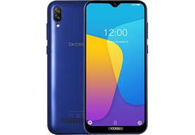 Doogee Y8C blue смартфон 1/8GB ,8MP 6.1'', + подарок